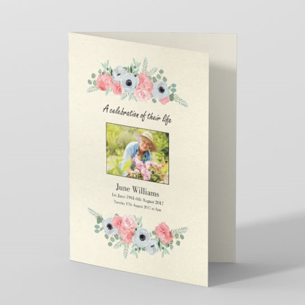 Funeral Order Of Service Templates | A Loving Tribute